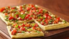 Bacon and Tomato Crescent Pizza Recipe