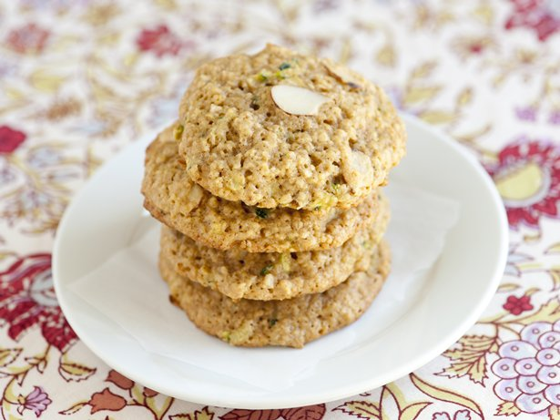 Zucchini Almond Cookies