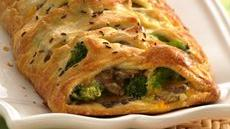 Broccoli Brunch Braid Recipe