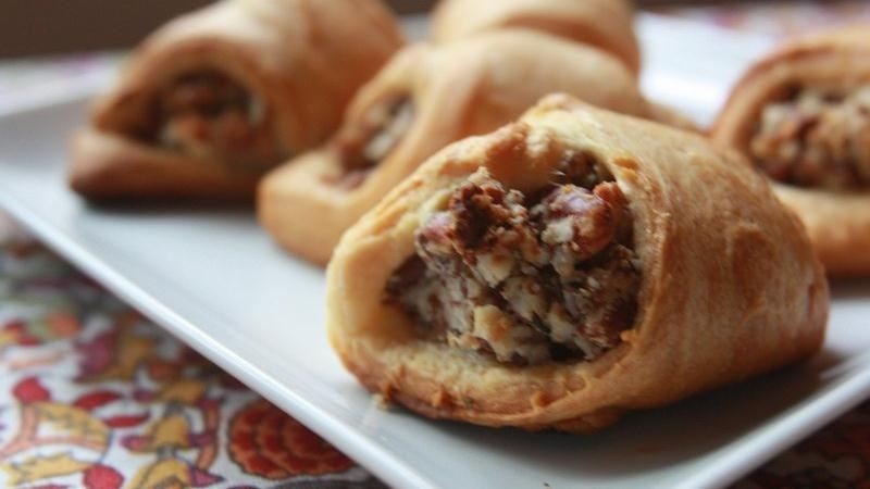 Goat Cheese, Pecan and Rosemary-Filled Rugelach