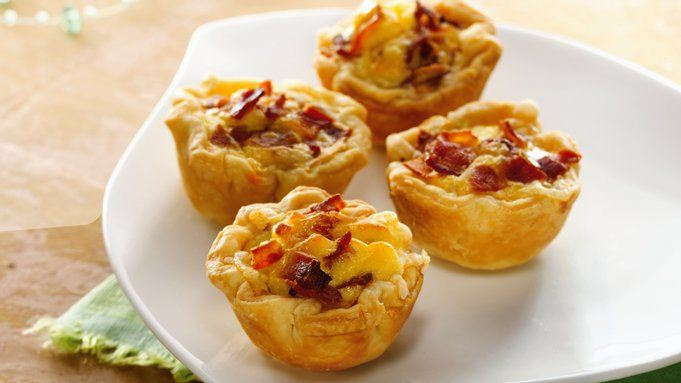 Mini Bacon-Cheese Cups (Party Size) recipe - from Tablespoon!