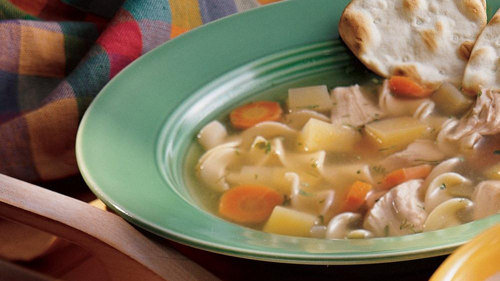 Mom's Chicken Noodle Soup
