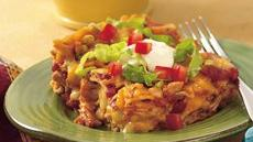 Taco Fiesta Chicken Lasagna Recipe