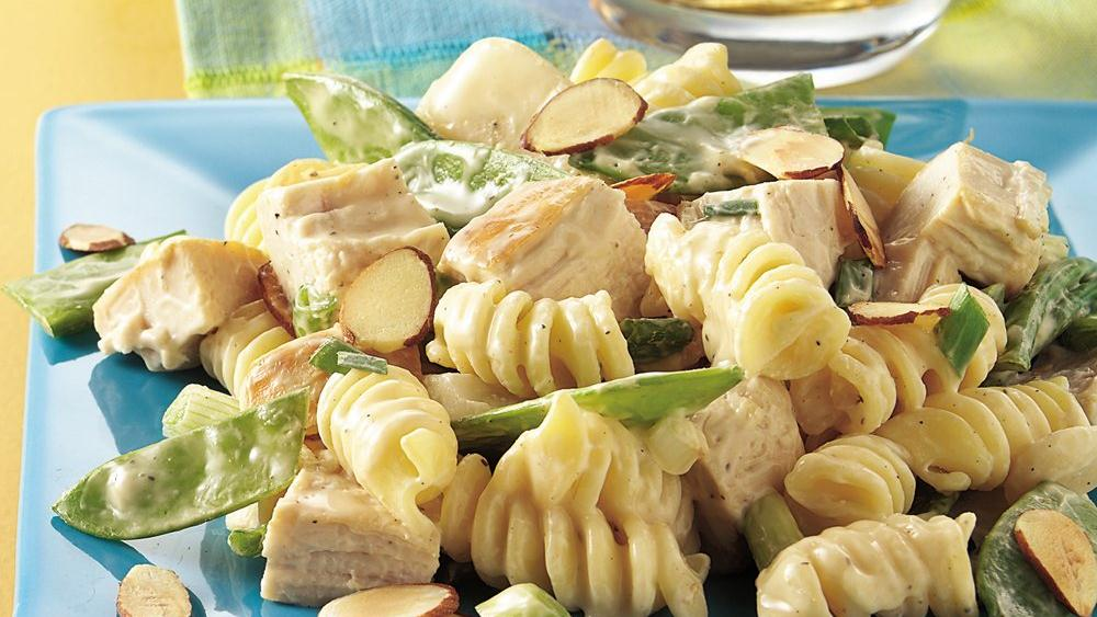 Pea Pod and Chicken Salad Oriental