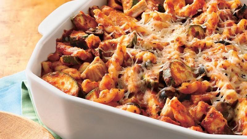 Tomato-Basil Turkey Casserole