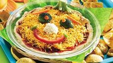 Funny Face Taco Dip Recipe