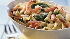 Spring Vegetable Fettuccine Recipe