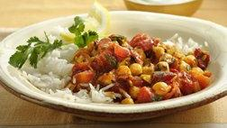 Gluten Free Chick Pea and Tomato Curry