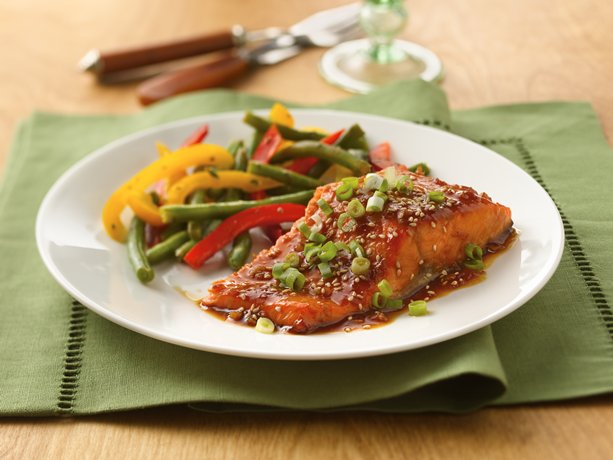 Image of Asian Salmon, Betty Crocker