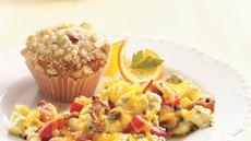 Lemon Raspberry Streusel Muffins Recipe