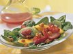 Tropical Fruit and Spinach Salad