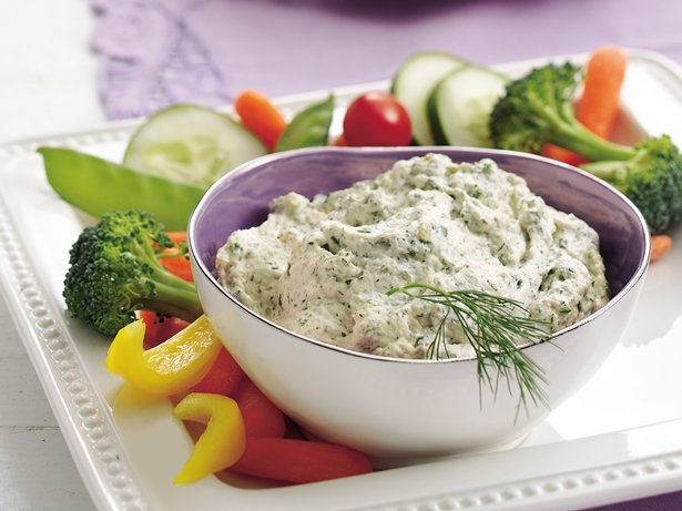 Zippy Dill Vegetable Dip