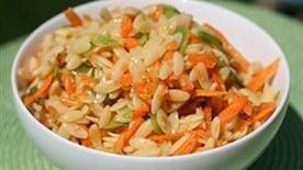 Sesame Orzo Salad