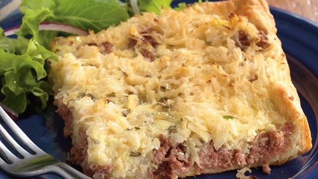 Main Dish Crescent Reubens