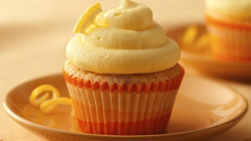 Lightly Lemon Cupcakes