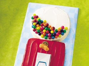 Gum Ball Machine Cake