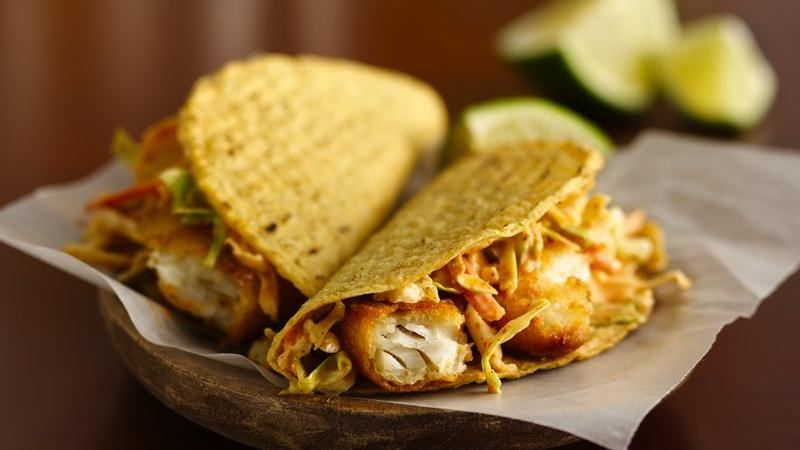 easy fish tacos recipe from betty crocker