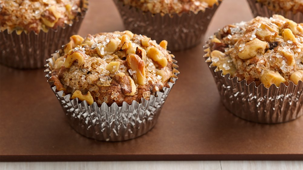 Chocolate Chip-Banana Nut Muffins