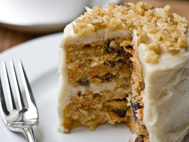 Mini Carrot Cake with Maple-Cream Cheese Frosting recipe from Betty ...