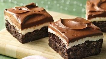 Gluten-Free Peppermint Patty Brownies