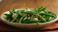 Green Beans with Pearl Onions and Bacon Recipe