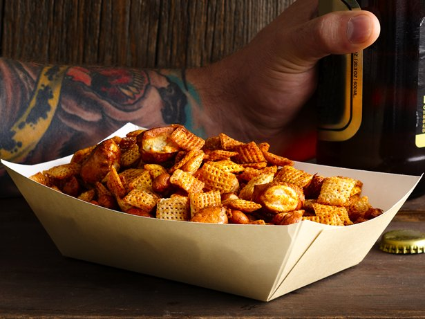 Sweet n Spicy Beer Nuts Chex Mix