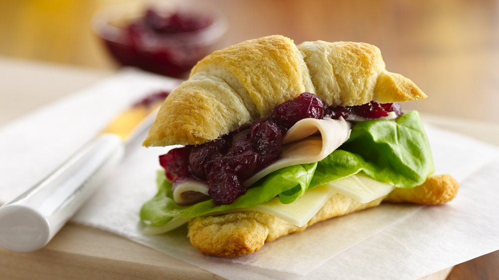 Cranberry-Turkey Sandwiches (Crowd Size)