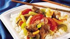 Five-Spice Beef and Vegetables Recipe