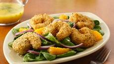 Crispy Seafood Salad with Citrus Vinaigrette Recipe