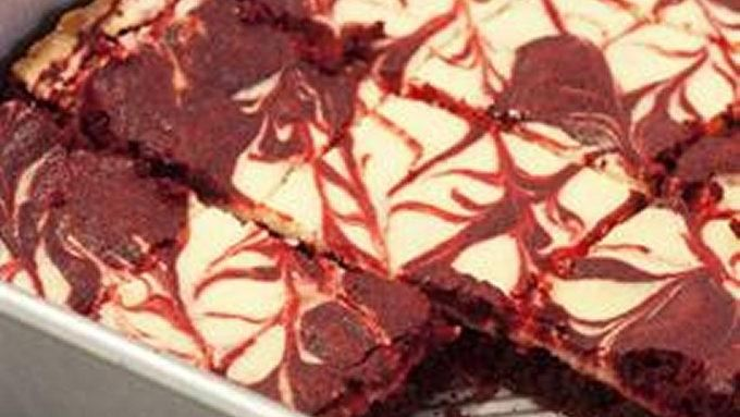 Red Velvet Cheesecake Swirl Brownies recipe - from Tablespoon!