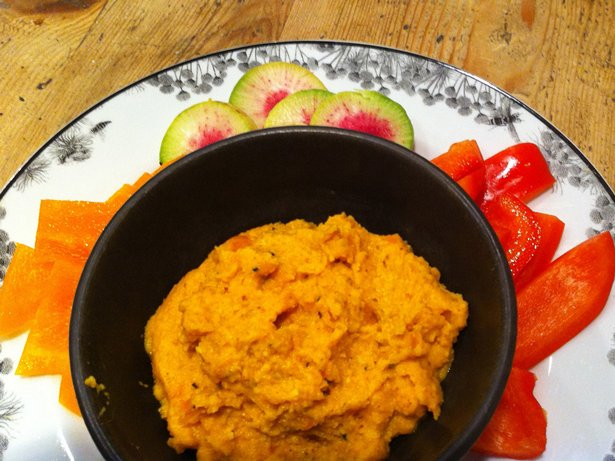 Gingered Carrot and Cashew Dip