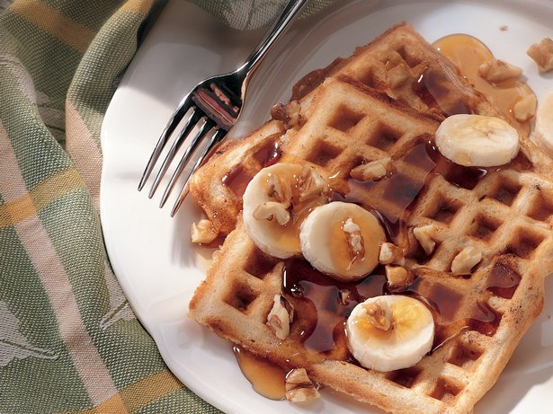 Banana-Nut Waffles