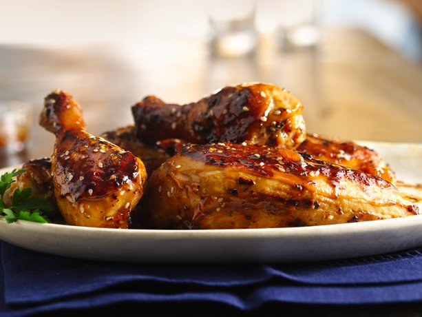 Image of Apricot-sesame Glazed Chicken, Betty Crocker