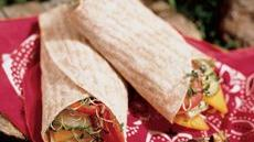 Cheese and Veggie Wraps Recipe