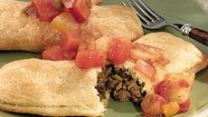 Spicy Jamaican Meat Pies with Island Salsa Recipe