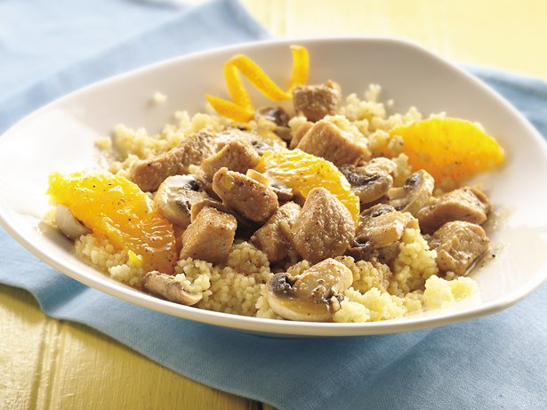 Ginger Pork in Orange Sauce