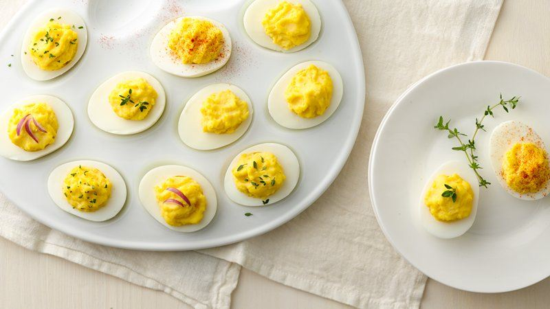 Classic Deviled Eggs recipe from Betty Crocker