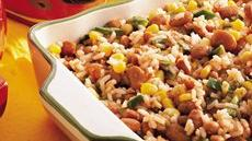 Fiesta Mexican Rice and Pinto Beans Recipe