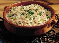Pine Nut and Green Onion Pilaf