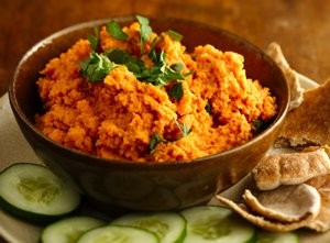 Spicy&#32;Carrot&#32;Hummus