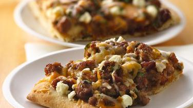 Turkey Confetti Pizza