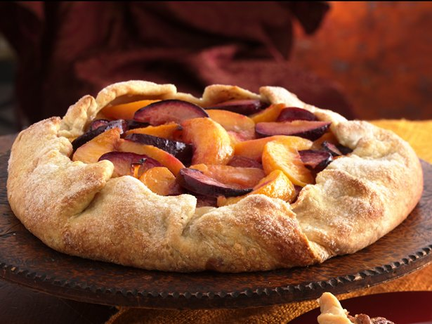 Peach-Plum Crostata