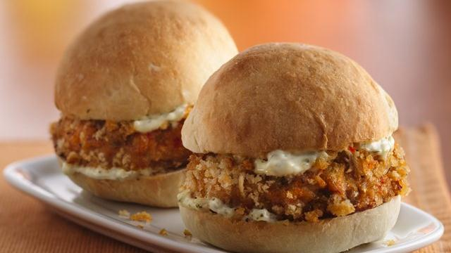 Island-Style Crab Cake Sliders