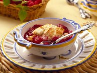 Fresh Berry Cobbler