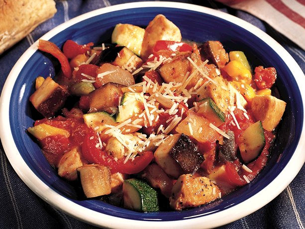 Turkey adds a twist to the classic French ratatouille, a blend of ...