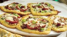Crescent Breakfast Pizzas Recipe