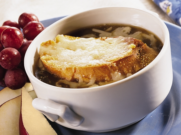 Quick Onion Soup Gratine