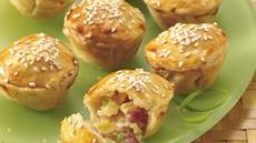 Tiny Ham and Pineapple Pot Pies Recipe