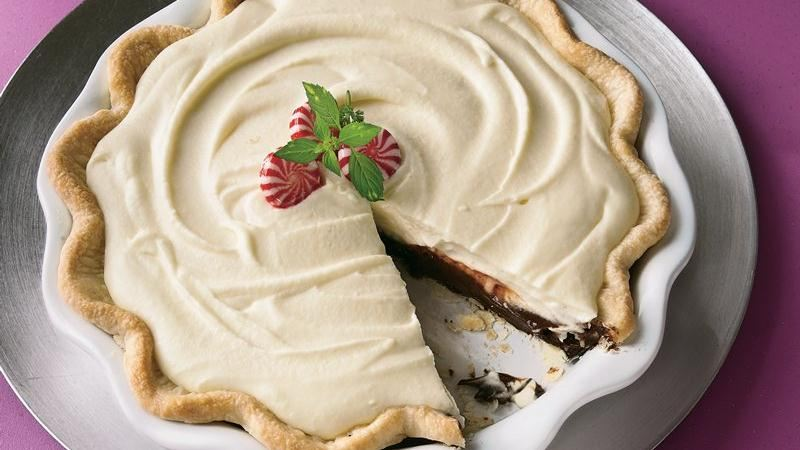 Peppermint Truffle Pie