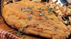 Mexi-Rice and Cornmeal-Crusted Fish Recipe